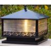 户外柱头灯大门柱子庭院灯景观花园别墅室外防水院子围墙灯太阳能