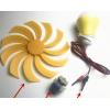 小微型风力发电机马达风能发电机风扇led灯物理科学实验手工科普